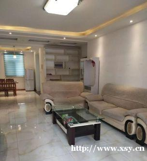 江泉国际精装2室2厅2卫,家具家电齐全有钥匙拎包入住122㎡