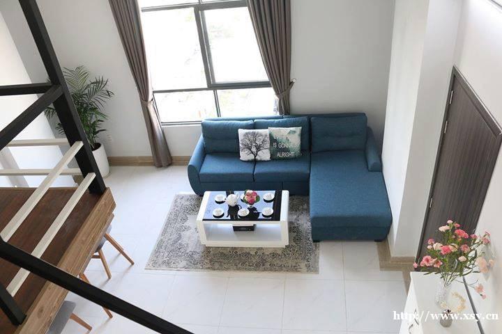 2房1厅公寓在胡志明市越南出租