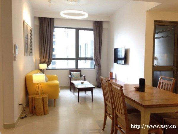 高级2房1厅公寓在胡志明市越南